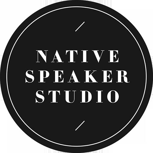 Native Speaker Studio
